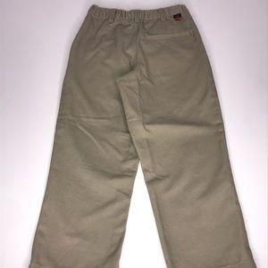 Vintage Dockers Pleated Tan Khakis  Size: 5 Slim